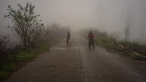 Un ciclón con fuertes lluvias golpea al sur de África.