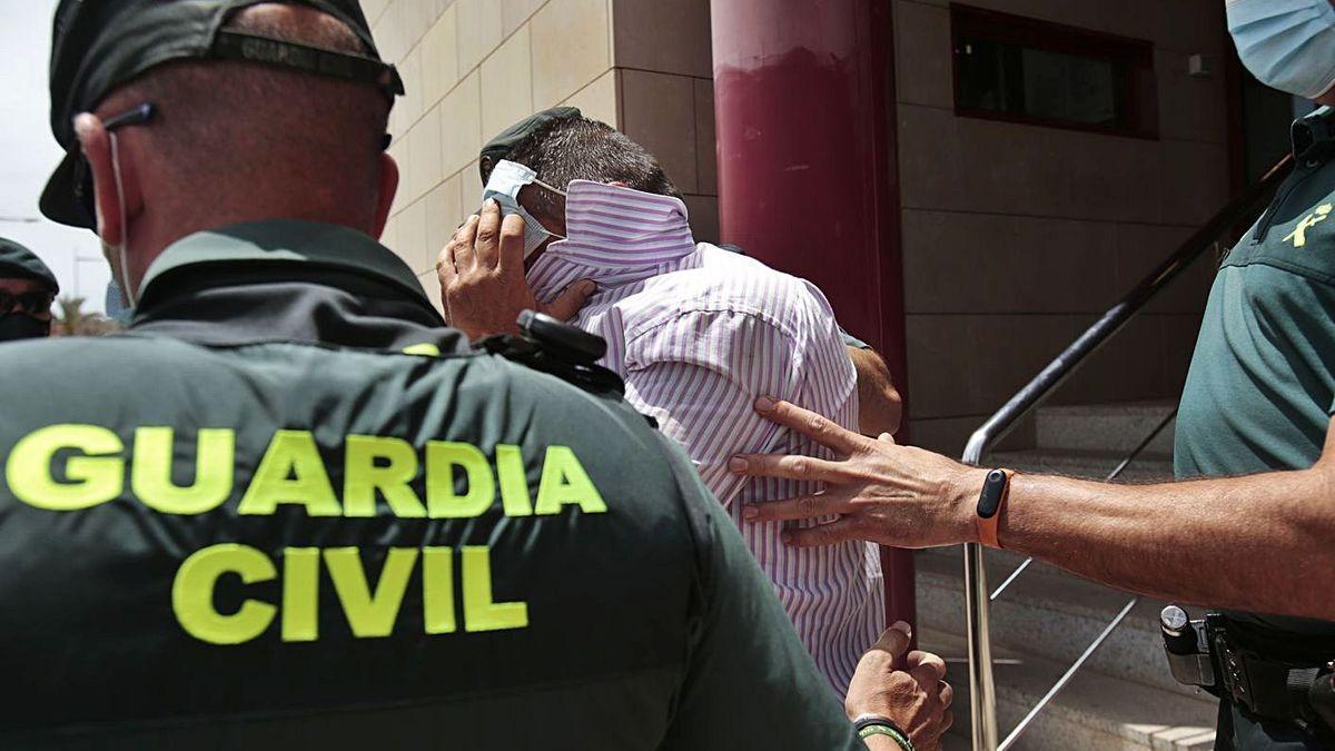 «Serà l'última vegada que em vacil·les»: la frase de l'acusat del crim de Mazarrón abans de disparar a la seva víctima
