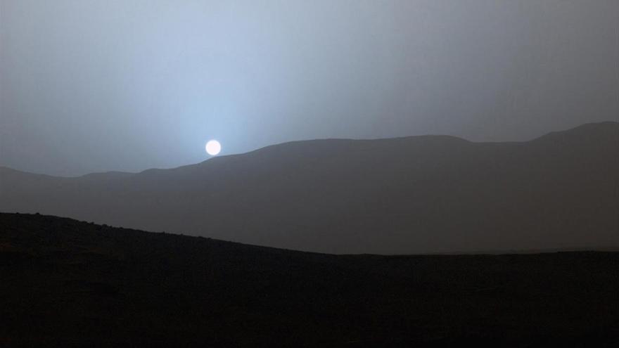 Los Atardeceres Azules De Marte