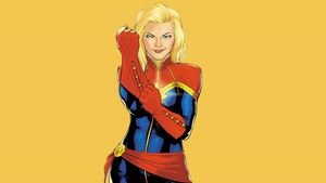 Capitana Marvel.