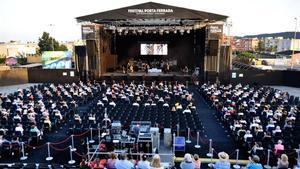 Lanueva ubicación del escenario del festival de Porta Ferrada.