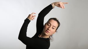 Janna Mir, ex alumna del Conservatori Profesional de Dansa del Institut del Teatre.