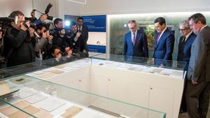 El ministro de Cultura, Jose Guirao, inaugura la mayor muestra del legado de Machado, este jueves en Sevilla