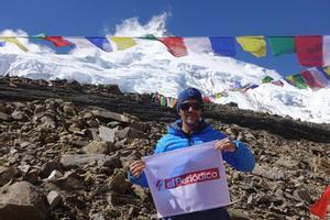 Sergi Mingote durante su expediciónen Nepal