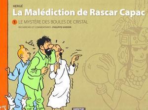 Portada del nou àlbum de Tintín, 'La malédiction de Rascar Capac', primera versió de 'Les set boles de cristall'.