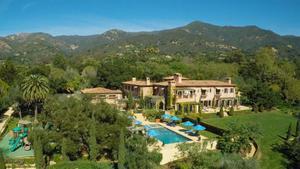 Una vista de la residencia de Meghan y Harry.