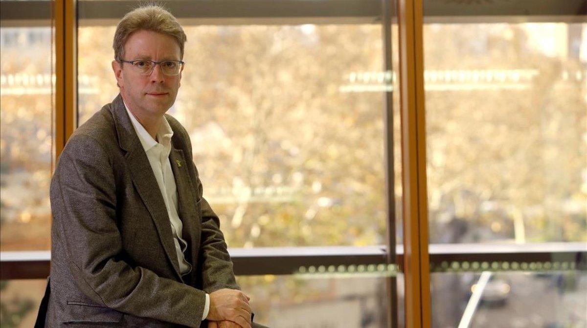 El secretario de organizacion del PDECat y diputado en el Congreso, Ferran Bel.