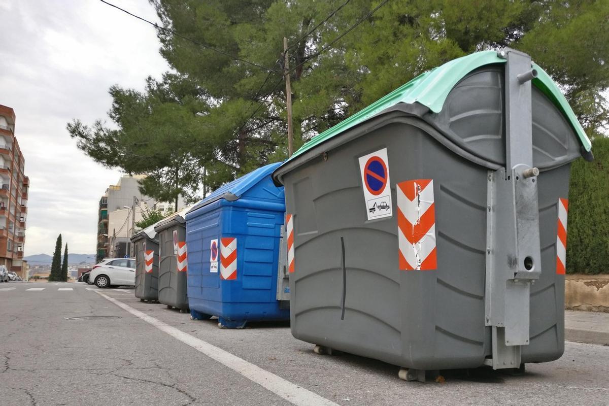 Contenedores para reciclar en Rubí
