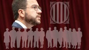 Perfil interactivo de los 14 'consellers' del Govern de Pere Aragonès