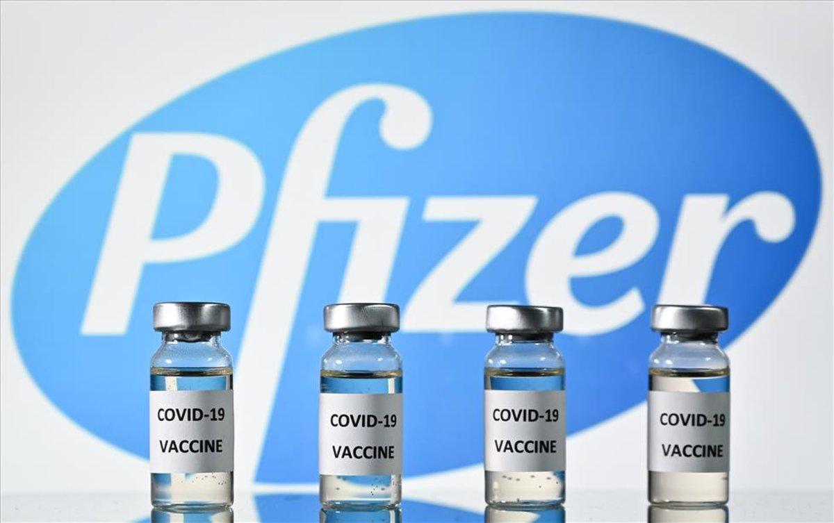 Vacuna de Pfizer para la COVID-19.