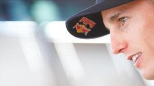 Pol Espargaró, lider del proyecto KTM, que podría ser el próximo compañero de Marc Márquez en el equipo Repsol Honda.