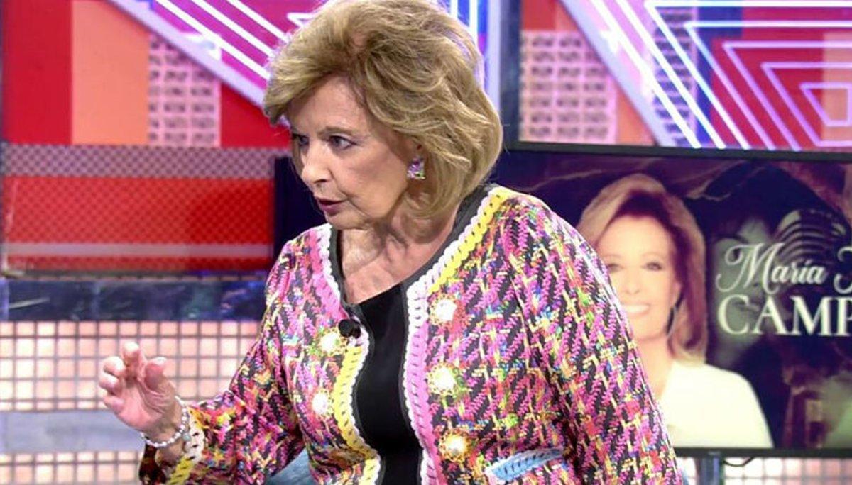 """Los ataques de María Teresa Campos a Jorge Javier que propiciaron su guerra: """"Te va a dar otra vez la cosa"""""""