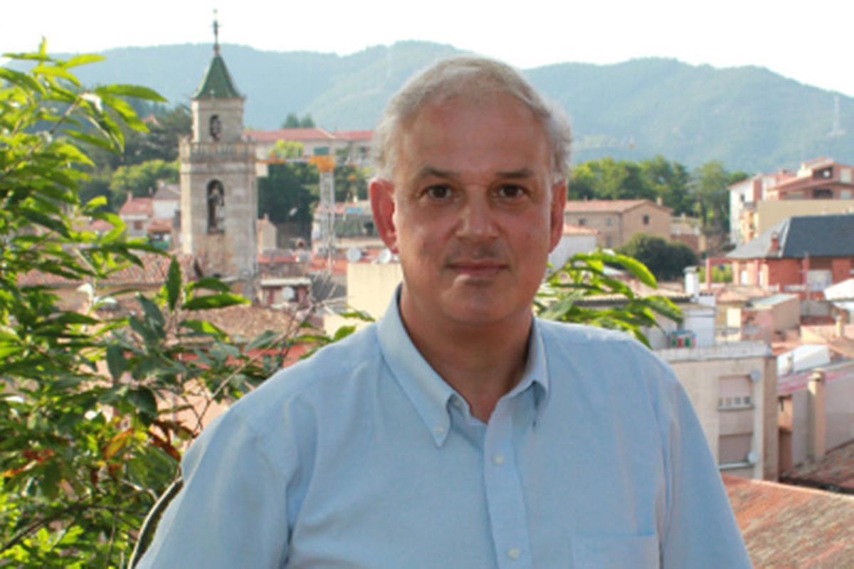 El alcalde de Sant Hilari de Sacalm, Robert Fauria.