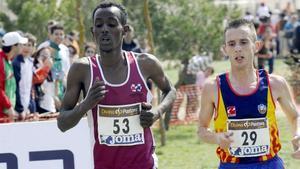 Carles Castillejo (derecha) será uno de los participantes de la milla de Sant Pau