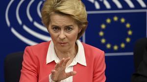 La presidenta de la Comisión Europea, Ursula von der Leyen, en una imagen de archivo.