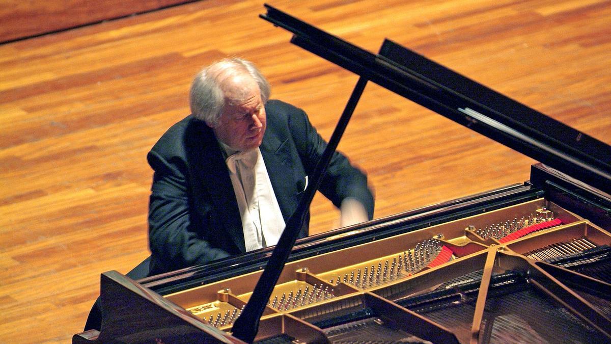 Grigory Sokolov, un habitual del Palau de la Música Catalana.