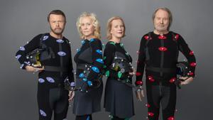 Imagen promocional del grupo ABBA