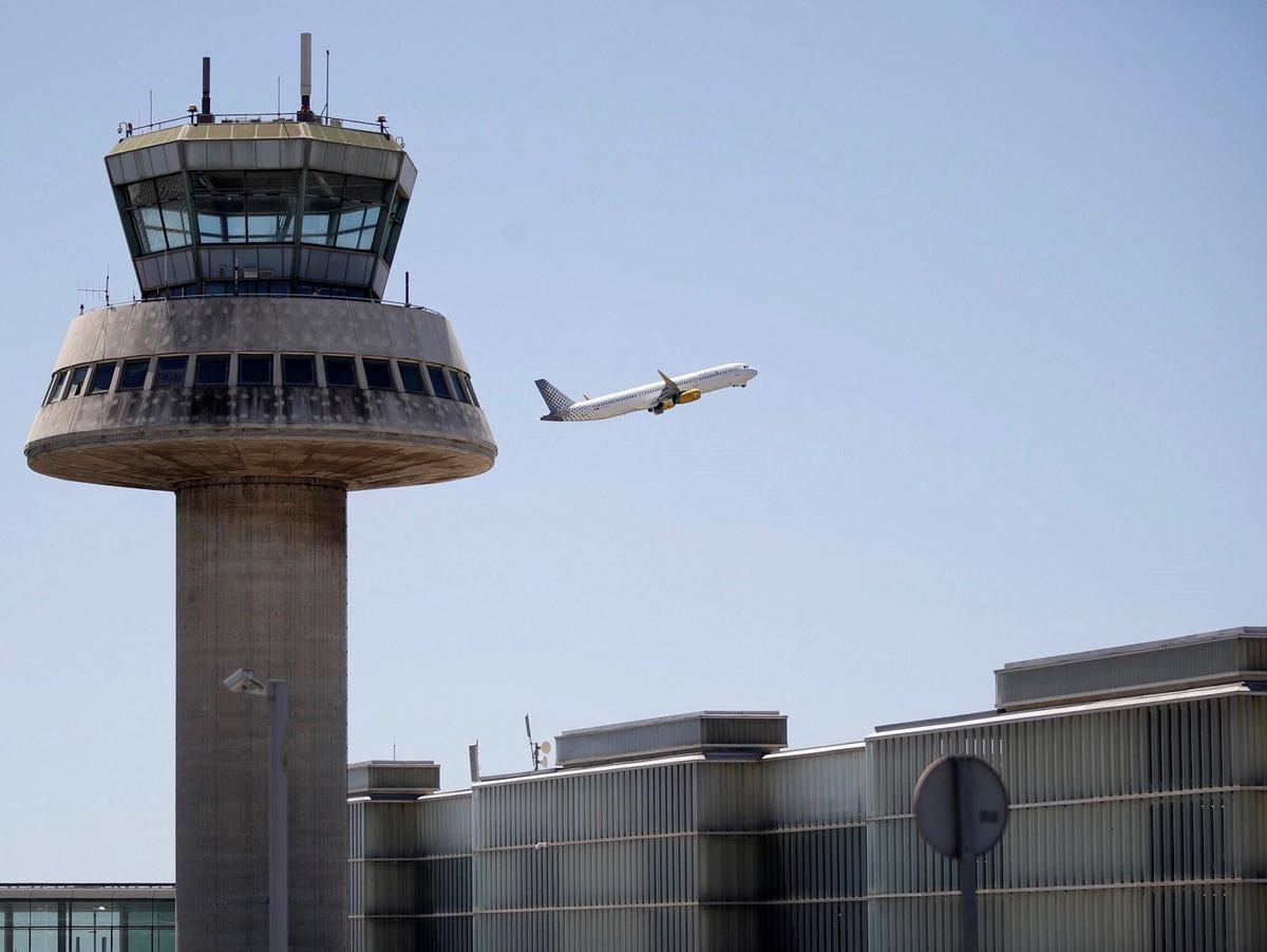 Aeropuerto del Prat, en 2019.