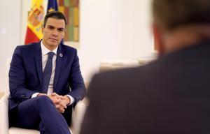 Entrevista con el presidente del Gobierno, Pedro Sánchez