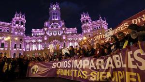 Imagen de archivo de la manifestación feminista