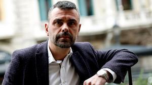 Santi Vila posa para una entrevista en Barcelona, el pasado 8 de marzo.