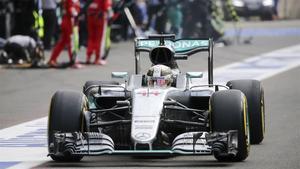 Lewis Hamilton, en Spa.