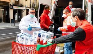 El coronavirus destapa la pobresa més invisible