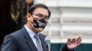 El Congrés peruà destitueix el president Vizcarra per corrupció