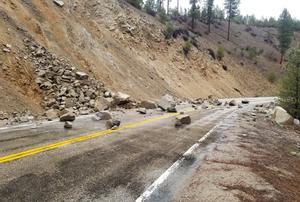 Terremotoen la zona montañosa de Salmon River Mountains (EEUU).