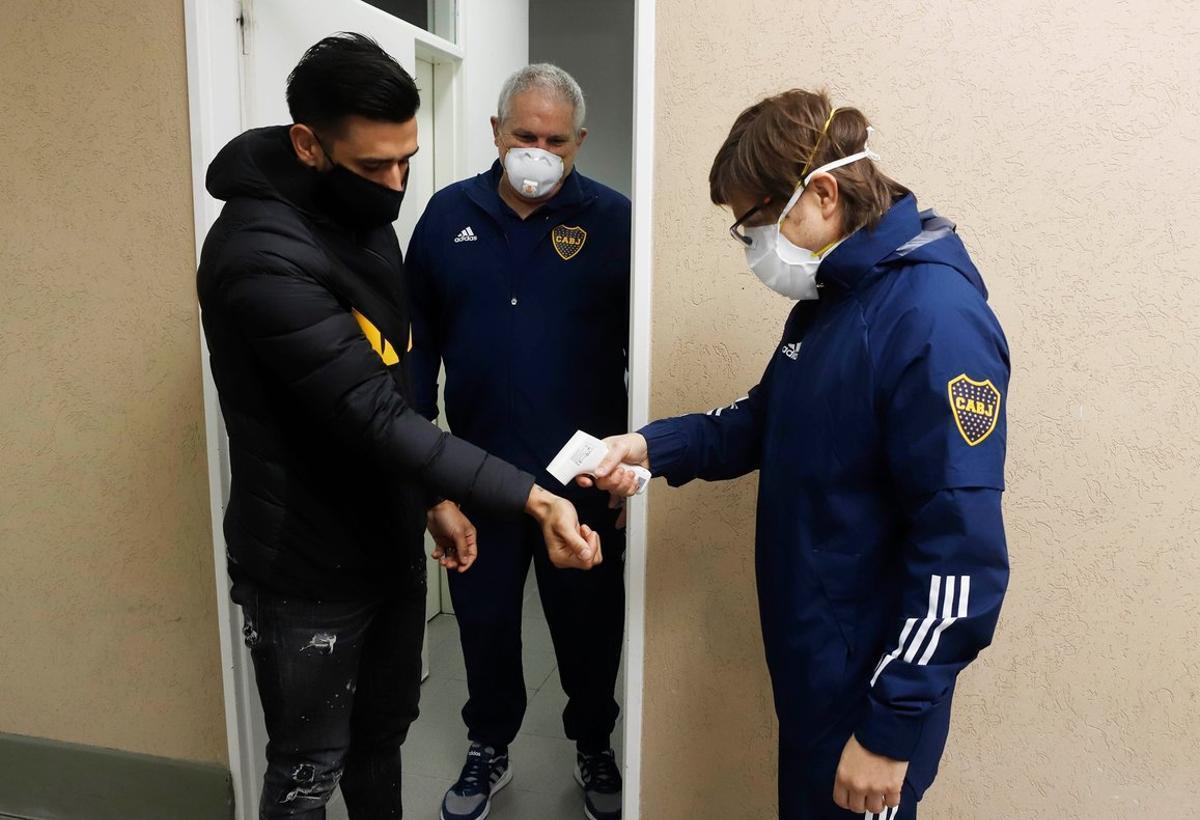 Boca Juniors inició el 24 de agosto una 'burbuja sanitaria' para poder entrenarse en doble turno en tiempo de las medidas dispuestas por el Gobierno Nacional.