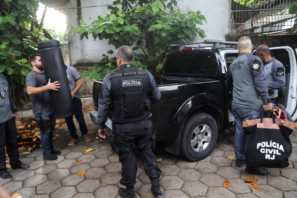 Policías de de Río de Janeiro.