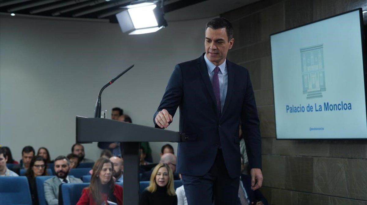 Últimes notícies d'Espanya, Pedro Sánchez i els seus ministres | Directe.