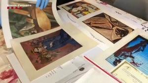 Detenido un hombre .que vendía obras de arte falsas por internet