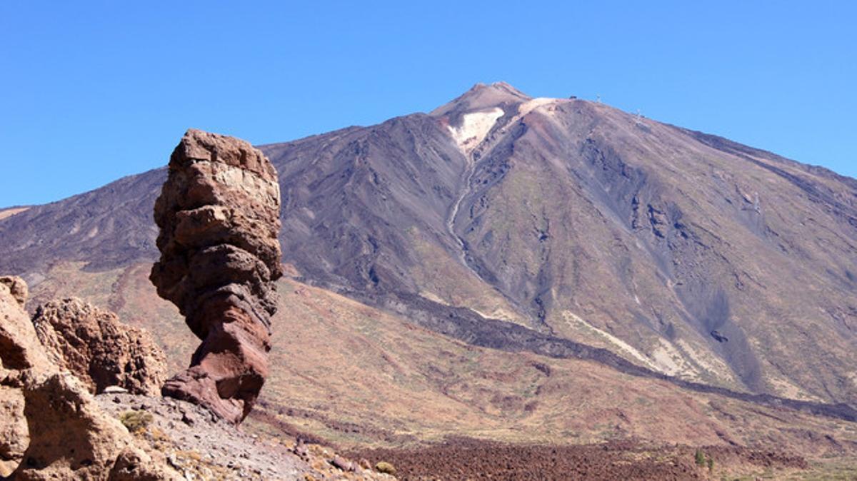 El parc nacional del Teide, a l'illa de Tenerife.