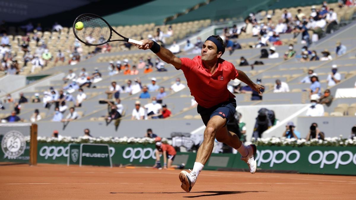 Federer comença en mode express a Roland Garros