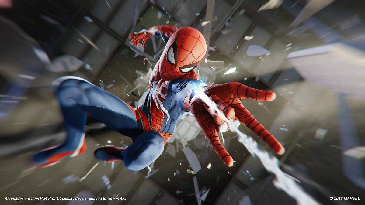 El juego Spider-Man para PS4.