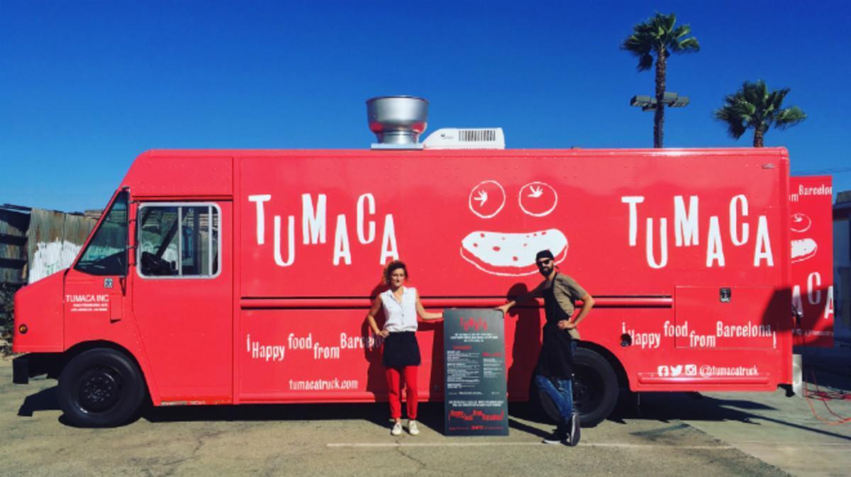 El 'food truck' de Victor y Sybille se pasea por distintos lugares de Los Ángeles.