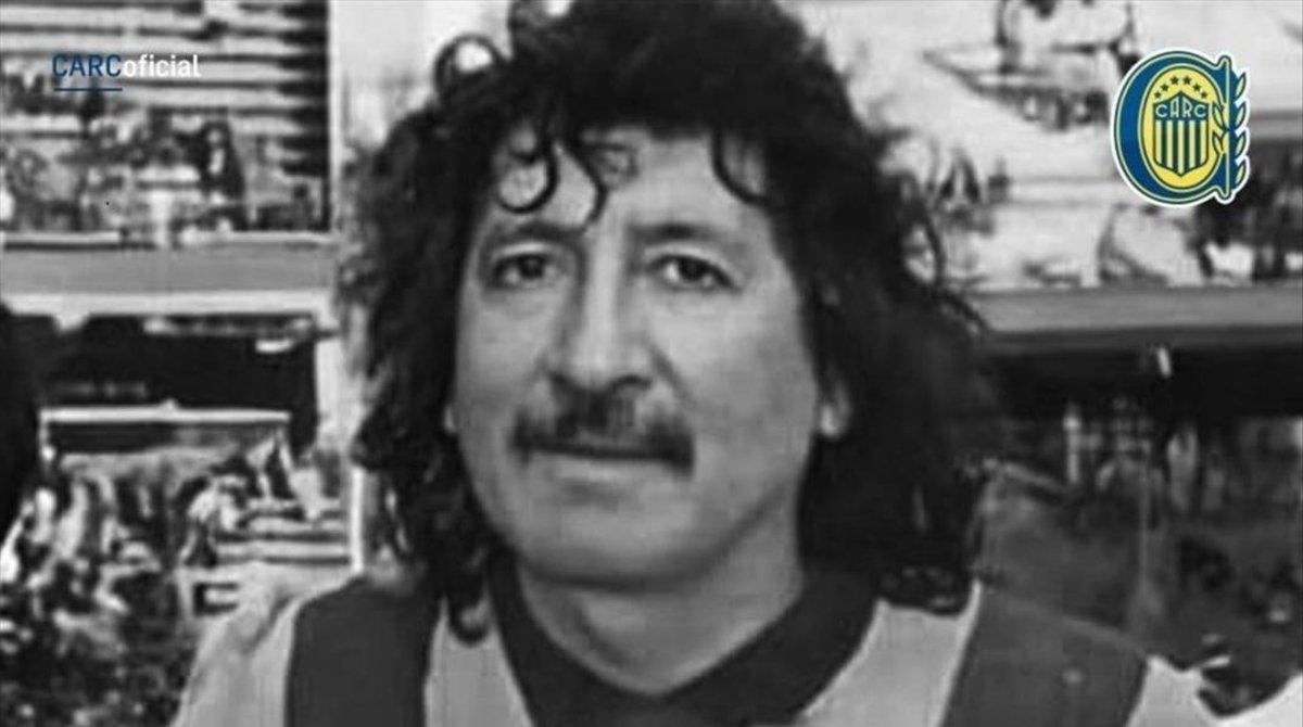 Carlovich, en su época de jugador de Rosario Central.