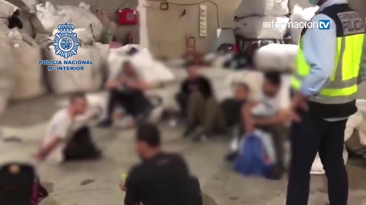 Detenido en Alcoy un empresario textil por explotación laboral de inmigrantes.