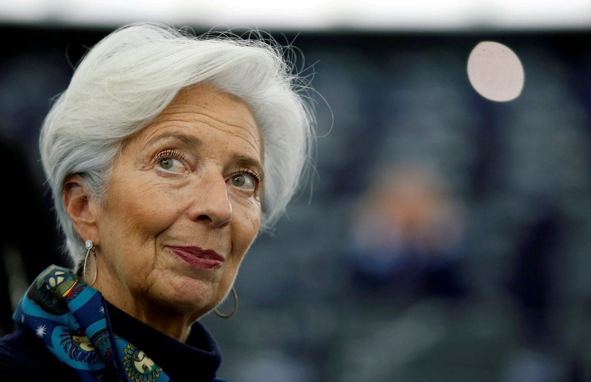 Christine Lagarde, presidenta del Banco Central Europeo