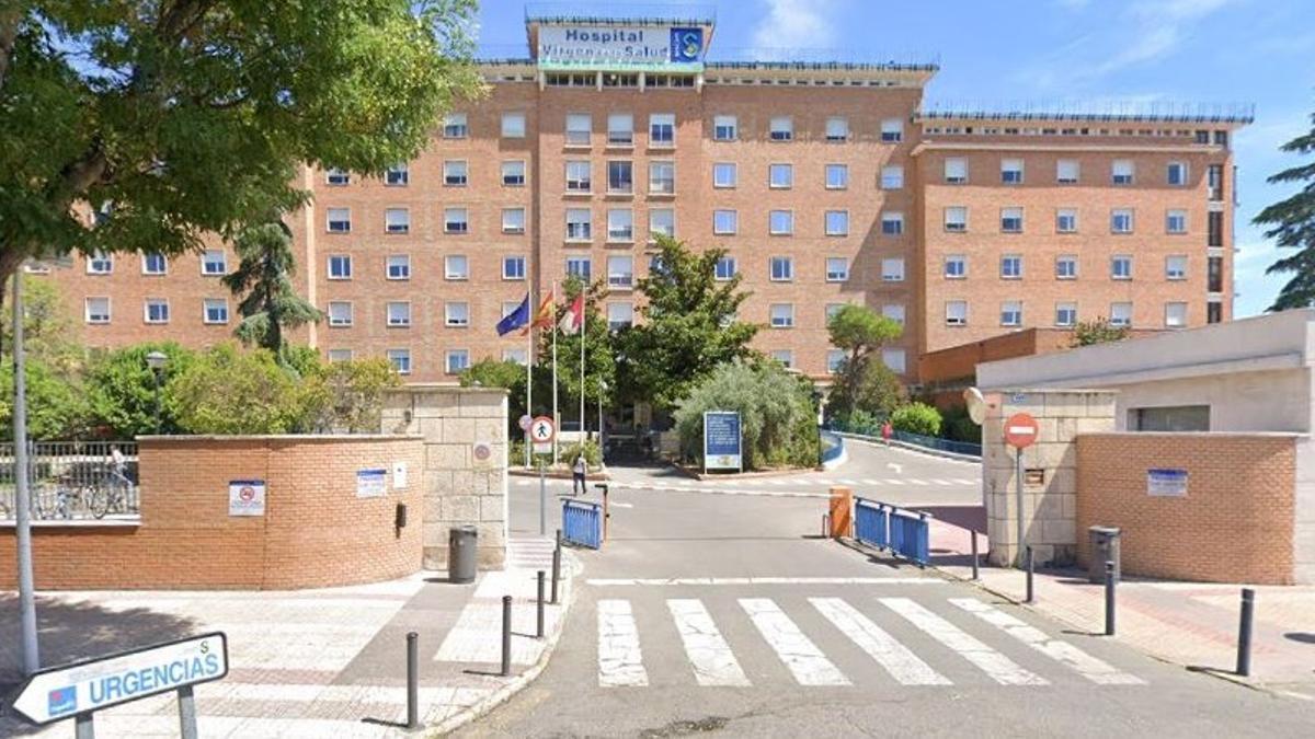 Entrada al .Hospital Virgen de la Salud de Toledo