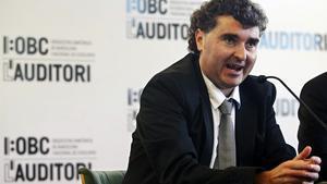 Imagen de archivo de la presentación de Oriol Pérez Treviño como nuevo director del Auditori