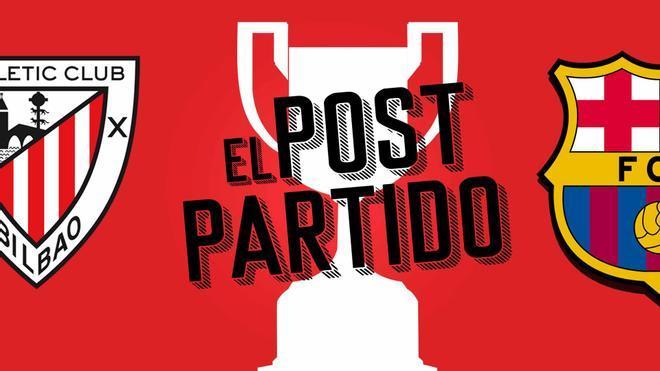 El post partido del Athletic Club - Barça: una Copa para construir el futuro