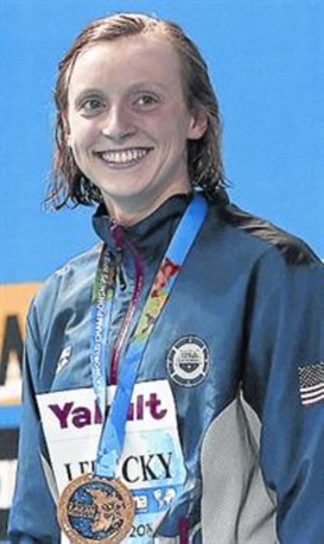 Ledecky persegueix la llegenda de Phelps