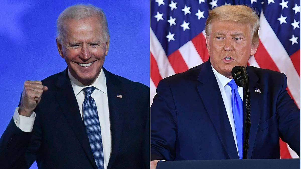 Trump dice que ha dado luz verde a la transferencia de poder a Joe Biden.