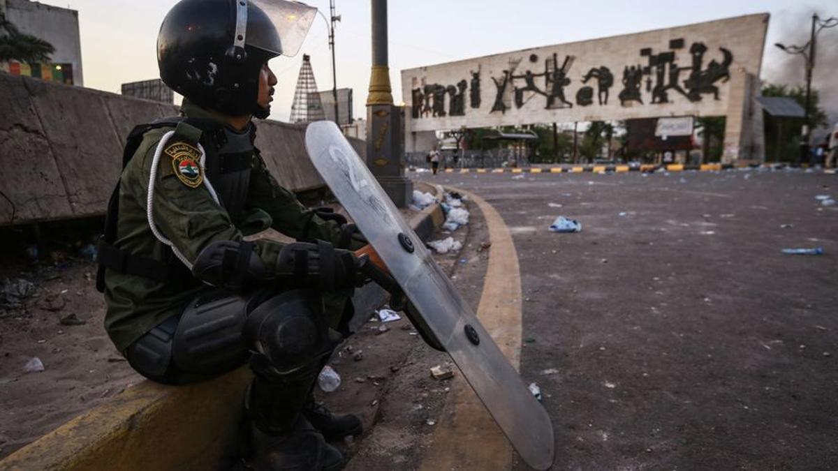 Archivo - Miembro de las Fuerzas de Seguridad de Irak