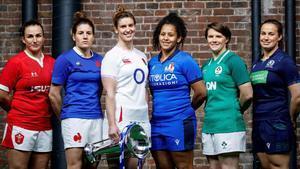Jugadoras del Seis Naciones femenino /AFP