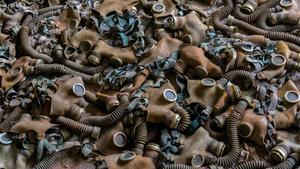Imagen de la exposición 'Txernòbil. 34 anys després'.