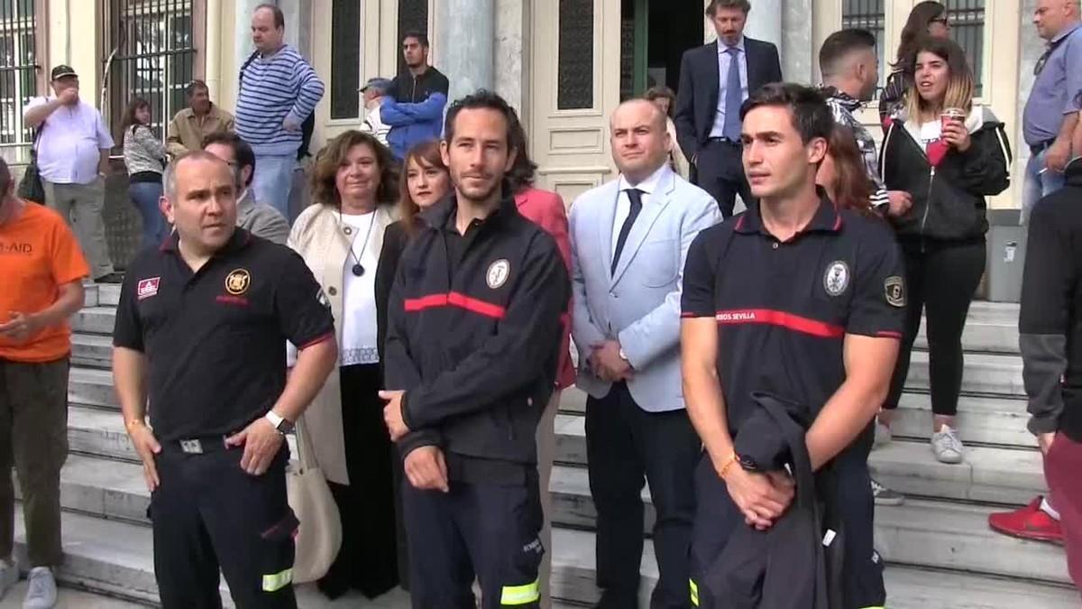 Empieza el juicio contra los bomberos españoles de Proem-Aid en Lesbos.