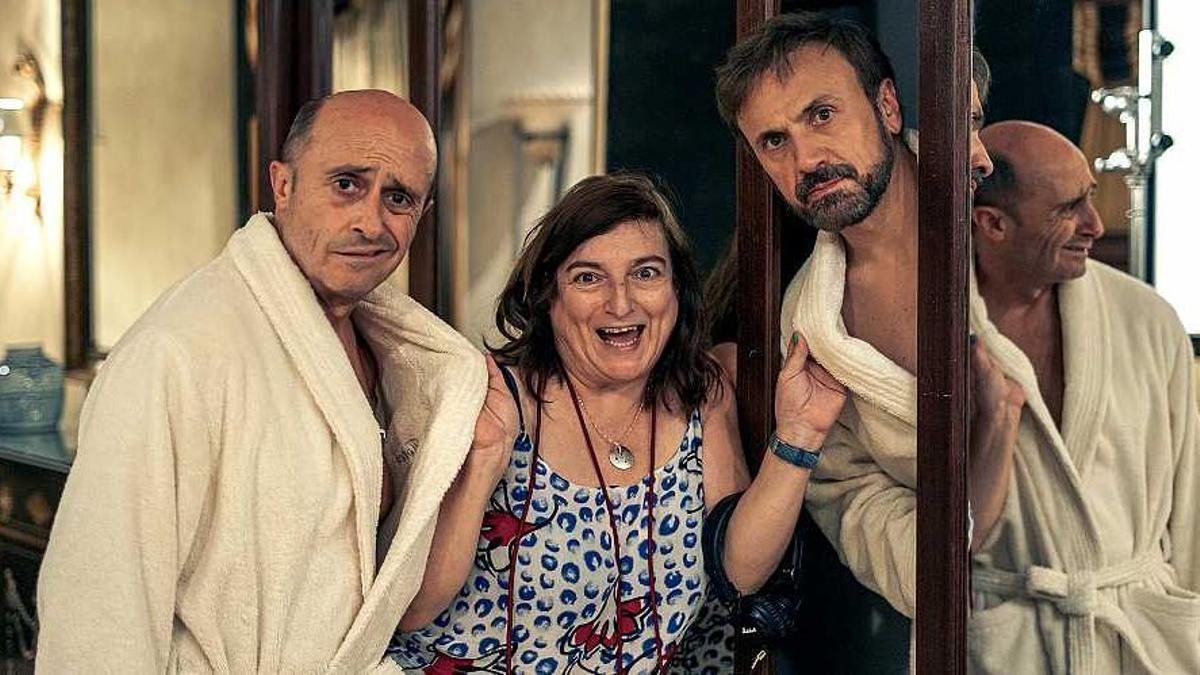 'García y García': cómicos en apuros